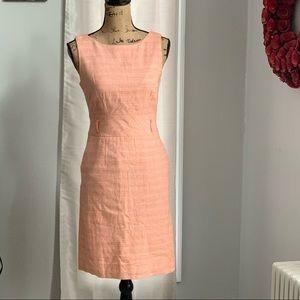Banana Republic orange sheath dress size 4